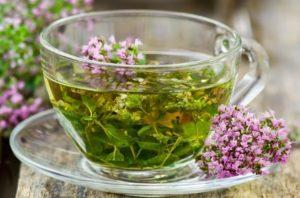Чай из цветов чабреца