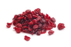 Сушёные плоды клюквы