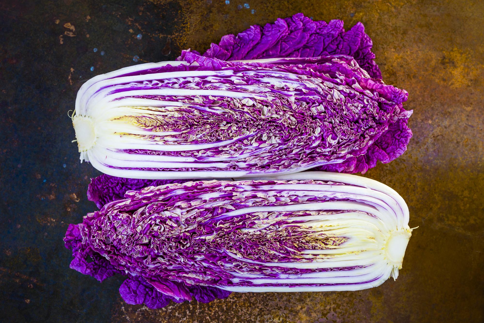 Пурпурная китайская капуста