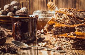Выпечка с Грецким орехом для чая