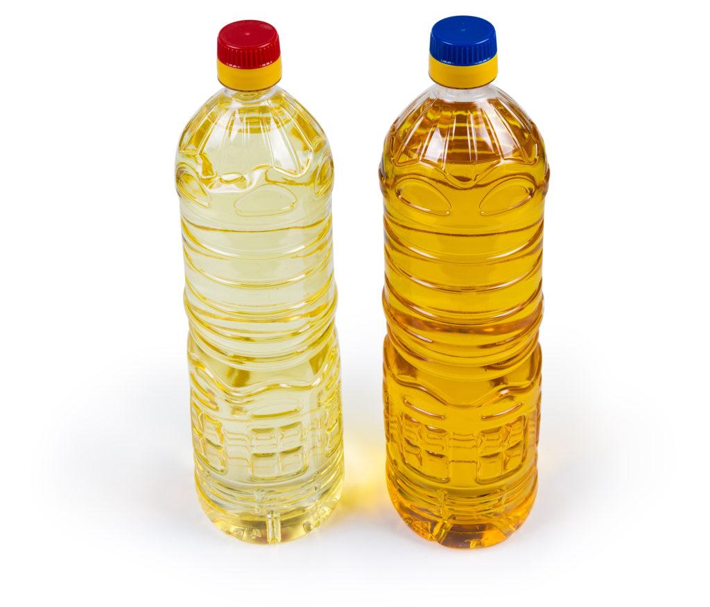 Неочищенное и рафинированное масло